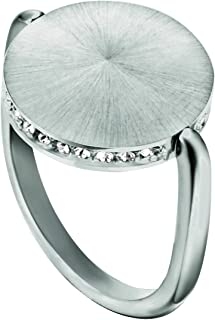 Esprit Sunset Sparkle Ring For Women , Stainless Steel - Esrg00022118, 18 mm