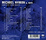 Immagine 1 michael nyman complete piano music