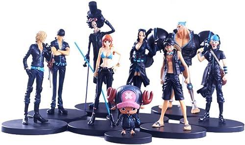 ventas de salida Personaje de Dibujos Animados de de de Anime Modelo Juguete de la Ciudad de oro Juego de Personajes de Dibujos Animados de One Piece Completo de 9 en Caja  los nuevos estilos calientes