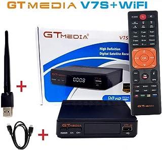comprar comparacion SATKIT SINTONIZADOR TV Sat GTMedia-FREESAT V7s HD + USB WiFi