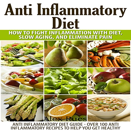 Anti Inflammatory Diet audiobook cover art