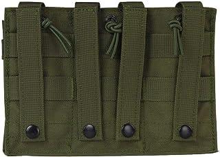 rongweiwang Kamouflage solid trippel tidningspåse nylon molle utomhus tidning påse kamouflage jakt vandring verktyg tillbe...