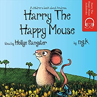 Harry the Happy Mouse audiobook cover art
