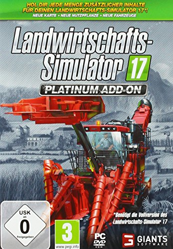 Landwirtschafts-Simulator 17: Platinum Add-On - PC