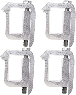 XSTRAP 4PK Mounting Clamps for Truck Cap/Camper Shells (Large)