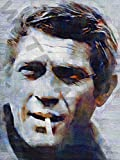 Posters-Galore Steve McQueen Film ICON Art Print Poster