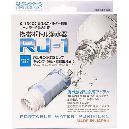 携帯ボトル浄水器RJ-1