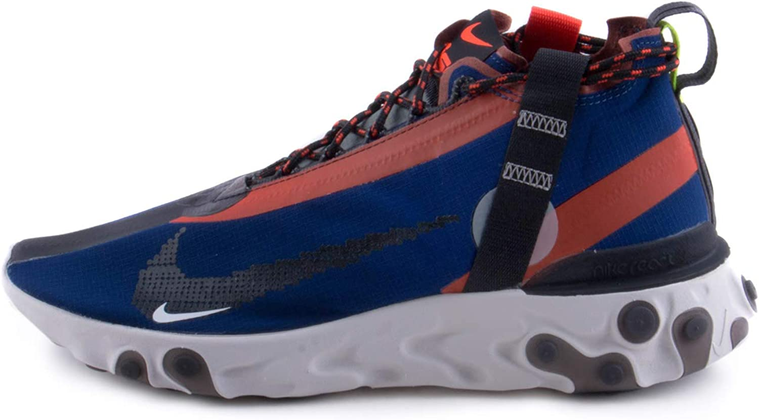 Nike React Runner Mid Wr Ispa Mens Running Trainers At3143 Sneakers Shoes