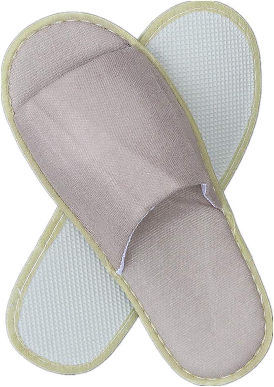 Disposable Slippers - Portable Unisex Non-Slip Massage Disposable Slipper Travel Hotel Slipper,80Pair