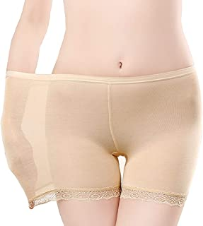 ALBATROZ Women Safety Pants Shorts Underwear Lace Panties Briefs Summer Shorts Fit for Dress Tight Womens Under Skirt Shorts Cycling Shorts (Free Size)