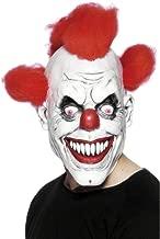 Smiffys Masque 3/4 de clown, avec cheveux, latex