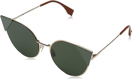 6a08de41ec86 Fendi FF0190S DDB Gold Copper FF0190S Cats Eyes Sunglasses Lens Category 3  Size