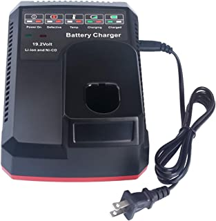 Biswaye 19.2-Volt C3 Battery Charger for Craftsman C3 19.2V XCP Lithium-ion & Ni-Cad Battery 140152004 315.CH2021 315.CH2020 315.PP2011 315.PP2010