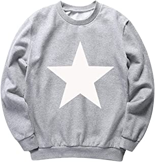 IFOUNDYOU Men's Fashion Winter Solid Printed Long-Sleeved Hooded Sweatshirt Halloween Tops Masculine Handsome Men's Clothi...
