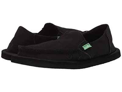 Sanuk Kids Lil Donna (Little Kid/Big Kid) (Black) Kid