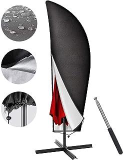 Housse de Protection de Parasol en Tissu Oxford(265x50/70/40cm),Housse Parasol Deporte Déporté,Couverture de Parasol avec ...