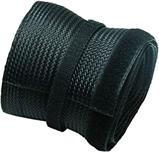Newstar NS-CS200BLACK Flexible Cable Cover (Length: 200 cm, Width: 8.5 cm) - Black