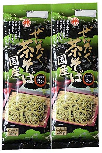 東亜食品『ぜいたく茶そば』