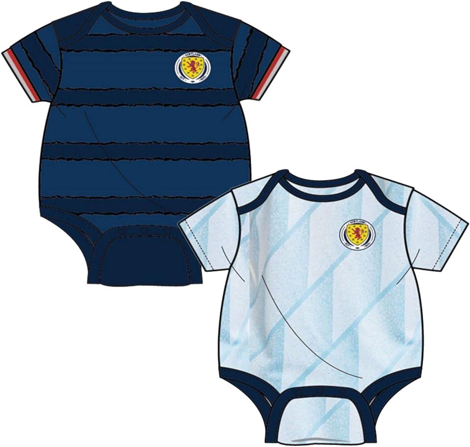 Scotland Football Baby 2 Pack Bodysuits | 2021
