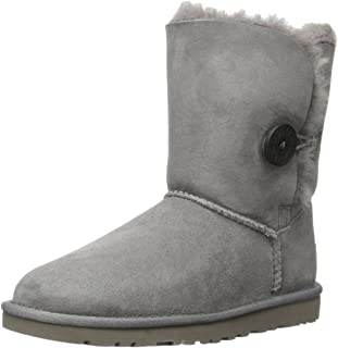 UGG Bailey Button 5803 - Botas Planas Mujer, Gris (GREY), 37