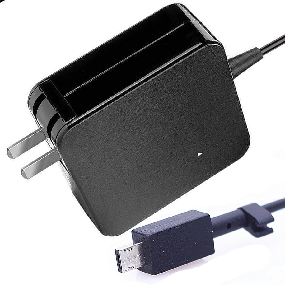Bacron 24w ac laptop charger for asus chromebook flip c201 c201p 11.6 inch laptop