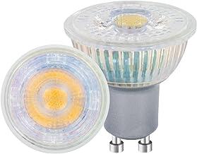 Sure LED Non-Dimmable Warm Light Bulb (Glass, GU10 PAR16, 3.6 W, 2700 k, 260 lm) - Pack of 10