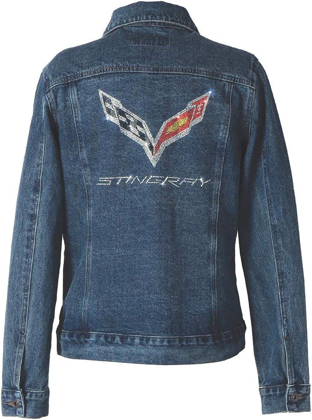 Corvette C7 Stingray Ladies Denim Jacket