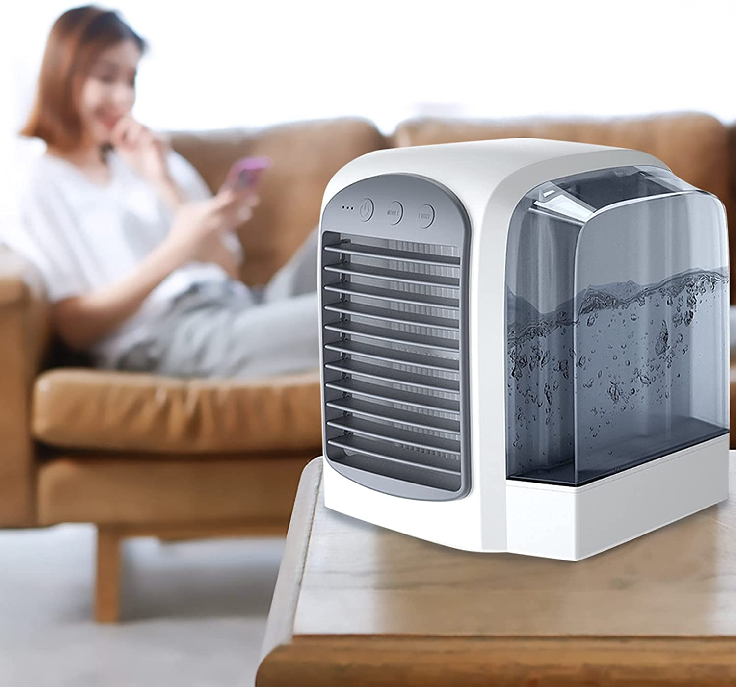 Breeze Maxx Limited price Portable AC Air Sp National uniform free shipping Personal Conditioner Fan