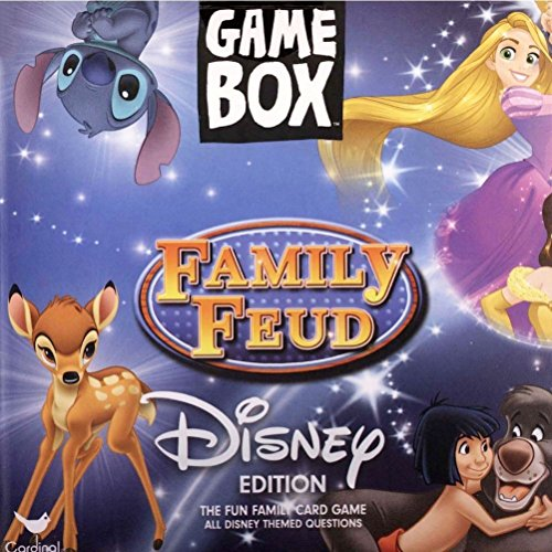Cardinal Disney Family Feud Game Box, Multicolor