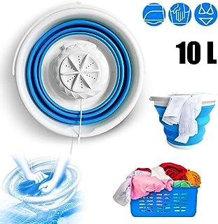 JIEHED Folding Laundry Tub Basic Portable Mini Washing Machine Folding Laundry Tub Basic Automatic Clothes Washing Machine