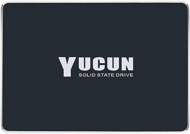 YUCUN 2.5 Pulgadas SATA III Disco Duro sólido Interno de Estado sólido 240GB SSD