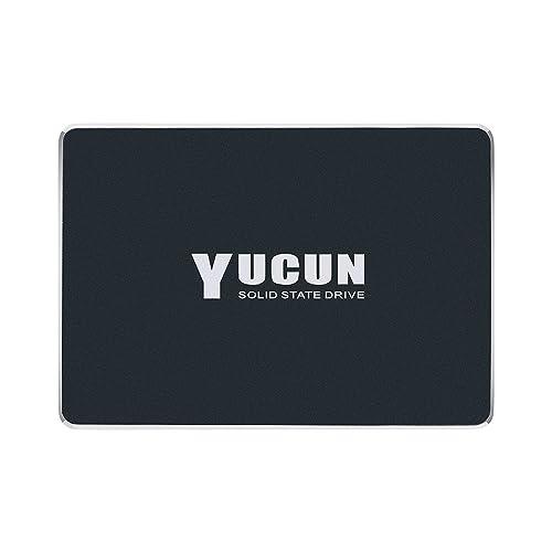 YUCUN 2,5 Pouces SATA III Disque Flash SSD 480 Go Interne Solid State Drive Grande Endurance Grande Vitesse jusqu'à 520 Mo/s