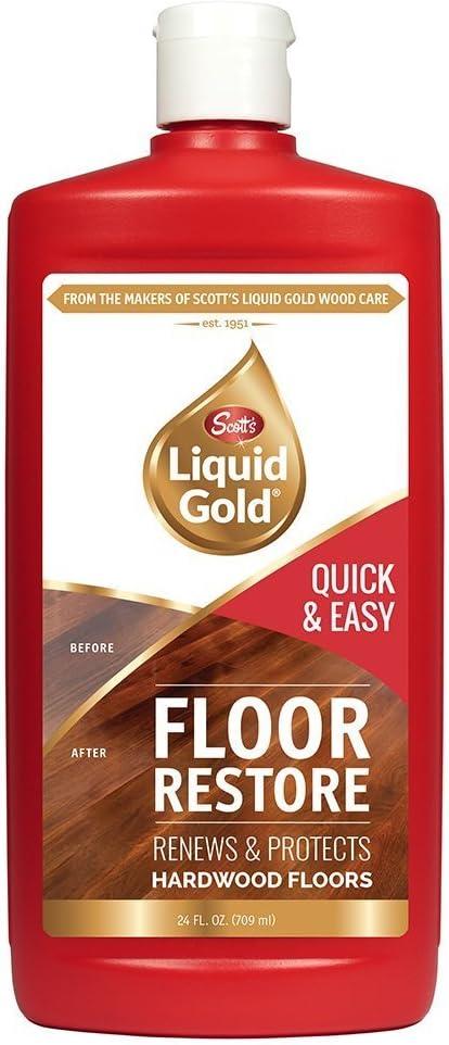 Scott's Liquid Gold Floor Restore- Fl アウトレット Hardwood Renews Protects 特売
