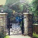 Arco de Boda, Arco de jardín, Enrejado Resistente para Rosas Plantas trepadoras Arco Nupcial cenador decoración de Fiesta para jardín, Patio Trasero