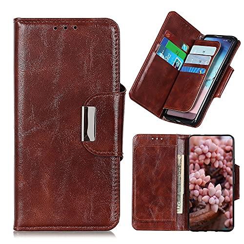 Teléfono Flip Funda Cajas de billetera para Samsung Galaxy Note 20 Case, PU + TPU CUBIERTA DE CUERO DE CUERO CON TITULAR DE TARJETA Funda protectora a prueba de golpes. Tapa trasera del teléfono intel