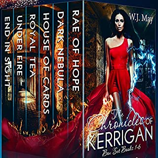 The Chronicles of Kerrigan Box Set, Books 1 - 6                   By:                                                                                                                                 W.J. May                               Narrated by:                                                                                                                                 Sarah Ann Masse                      Length: 39 hrs and 6 mins     285 ratings     Overall 4.6