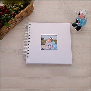 Album Photo, 20 Pages DIY Fotoalbum Photoalbum Kids Memory Book Paper Album Photo Baby Scrapbooking Fotograf Album (Couleu...