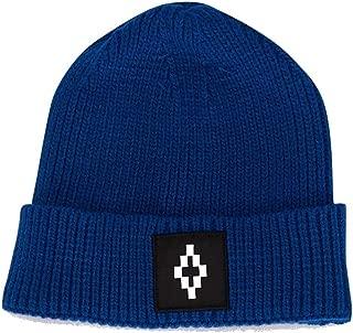 MARCELO BURLON Luxury Fashion Mens CMLC007F19B90075A601 Blue Hat   Fall Winter 19