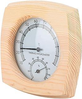 Thermomètre de Sauna, Thermomètre Numérique de Salle Hygromètre Thermomètre d'Humidité de la Température Thermomètre et Hy...
