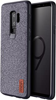 Samsung Galaxy S9 Plus Cases Covers with Full TPU Soft Edges & Art Cloth and Full-Edge Protection Shock- Absorbing & Great Grip Fully Compatibale for Samsung Galaxy S9 Plus(Gray) …