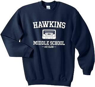 Mars NY Unisex Hawkins Middle School AV Club Sweatshirt