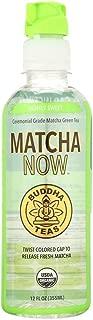 BUDDHA, Buddha Teas Matcha NOW Green Tea - Lightly Sweet - Case of 12 - 12 oz. - Pack of 12