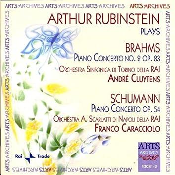 Arthur Rubinstein plays Brahms and Schumann