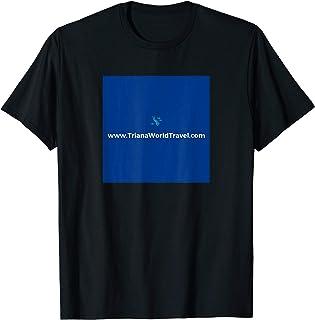 Triana World Travel promotional logo apparel T-Shirt