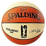Spalding WNBA Game Ball Sz.6 74-931Z Balón de Baloncesto, Unisex, Naranja/Blanco, 6