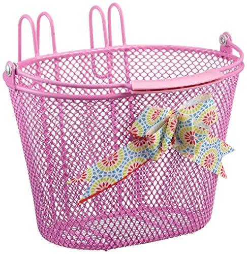 New Looxs Mädchen Asti Girls Fahrradkorb, Pink, 26 x 17 x 17.5 cm