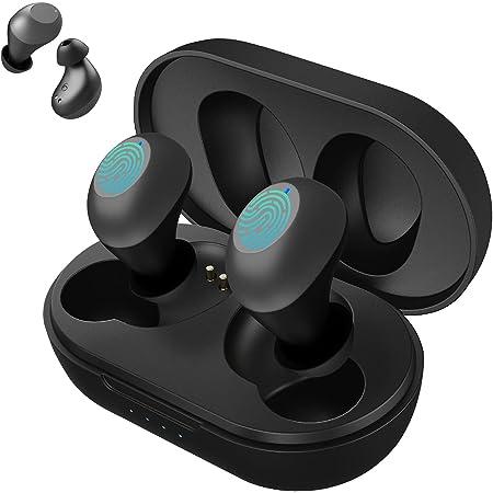 Bluetooth Kopfhörer in Ear, Kopfhörer Kabellos Bluetooth 5.0, Bluetooth Headset Sport IPX5 Wasserdicht mit Touch Control Type-C Schnellladung Tiefer Bass Hi-Fi Stereo für Smartphone Workouts Laufen