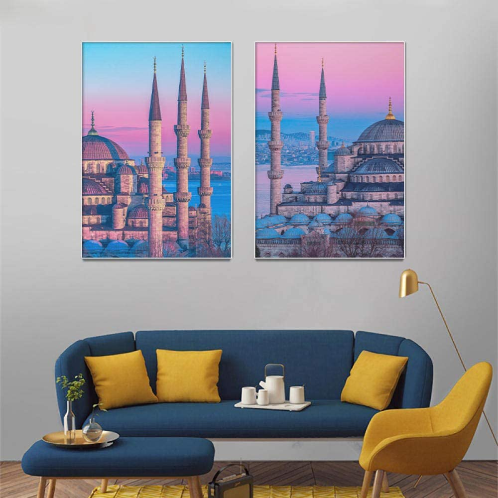 Canvas poster Nordic Building Award Modern Art Wall Poster Fashionable Can Fashion
