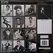 ELVIS - Portraits from the early years - 2016 wall calendar - 12