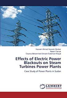 Effects of Electric Power Blackouts on Steam Turbines Power Plants: Case Study of Power Plants in Sudan